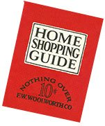 The Woolworth Home Shopping Guide (effectively a product list) was given away to customers along with the 50th Anniversary booklet.