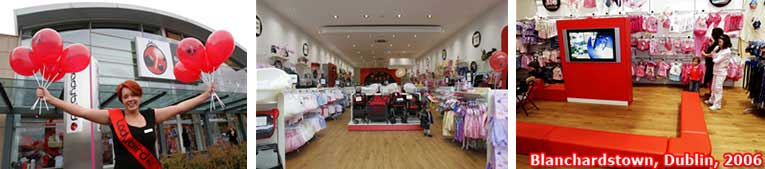 A new addition to the growing Ladybird chain in the Republic of Ireland - as the franchise operator opens in Blanchardstown on the outskirts of Dublin