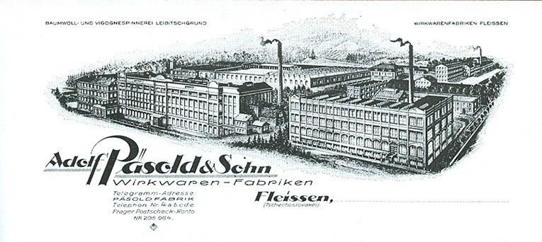 The original Pasold factory in Fleissen