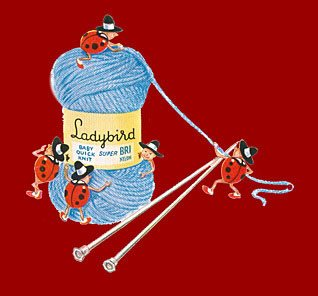 Ladybird Knitting Wool was a new invention for the 1960s following the Company's merger with Coats, Paton & Baldwin in 1965