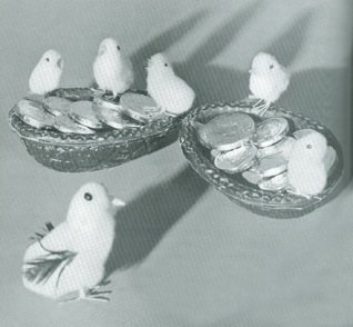 Cuddly Easter Chicks from the Woolworths Toy Department in the 1930s