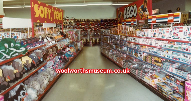 Toy displays in Woolworth's flagship store in London's fashionable Oxford Street in the late 1970s (image courtesy of Mr Andrew Hayzelden)