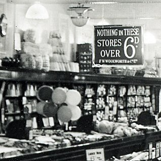 The balloons helped customers to spot the toy counter an early Woolworth stores