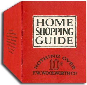 Woolworths' first catalogue - a fiftieth anniversary souvenir, widely distributed to customers in the USA and Canada in 1929