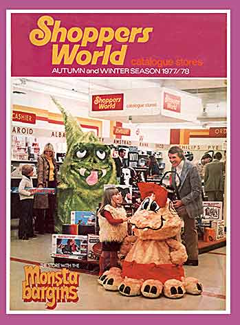 It's Woolworth, but not as you know it. A catalogue from the short-lived Argos-like Shoppers World chain which sprang up in the 1970s before being abandonned when the chain changed hands in 1982