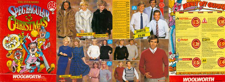 The ever-more spectacular Woolworth Christmas Catalogue in 1983